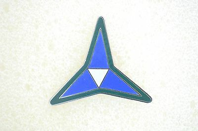 US USA Army 3rd Corps Military Hat Lapel Pin