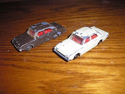 Lot of 2 Vintage Matchbox Lesney Ford Corsairs Collector No. 45