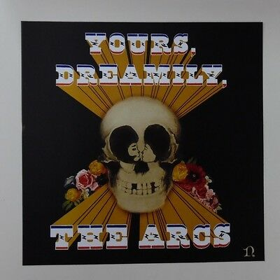 """The Arcs - Yours, Dreamily Promo Poster Flat 12"""" x 12"""" rare limited"""