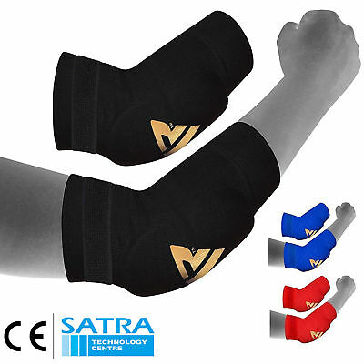 RDX Elbow Pads Protector Brace Arm Guard MMA Gym Padded Sports Support Guards AU