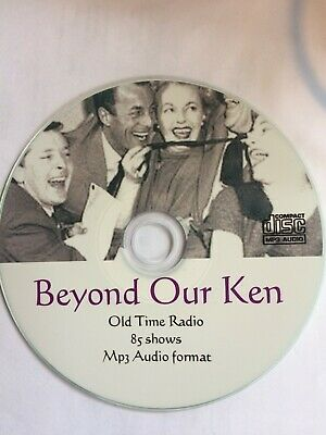 BEYOND OUR KEN - 83 Old Time Comedy Radio Shows Mp3 CD - Kenneth Williams