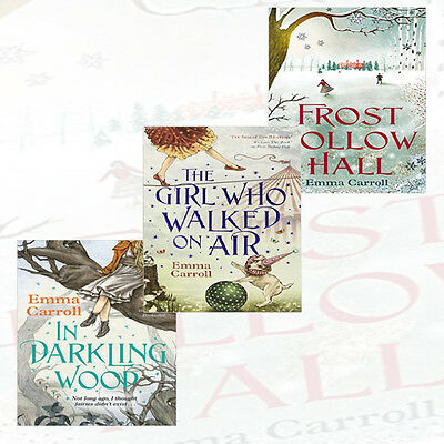 Emma Carroll's Collection In Darkling Wood 3 Books Set, Frost Hollow Hall NEW PB