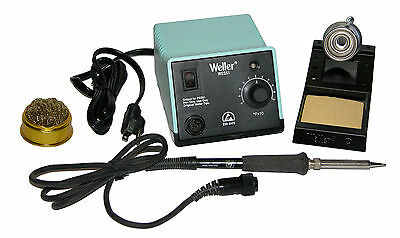 Weller WES51 Analog Soldering Station with HTAZD-10W-2 Waterless Tip Cleaner