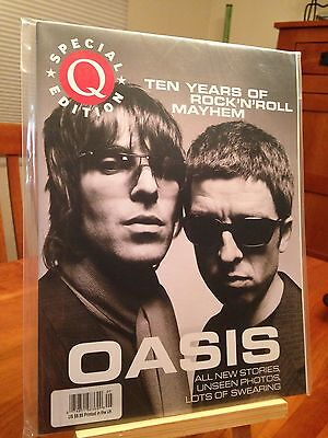 """oasis - 10 Years"" Q Magazine Special Collector's Edition - Pristine Mint!"