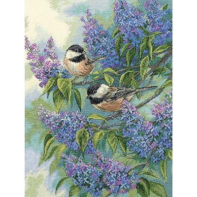 DIMENSIONS CROSS STITCH Kit - Chickadees and Lilacs