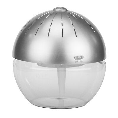 Air Cleaner & Revitalizer – Earth Globe - Silver