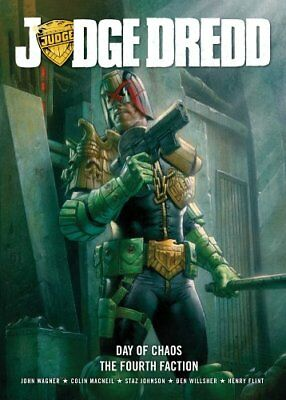 Judge Dredd Day of Chaos/Fourth Faction-John Wagner