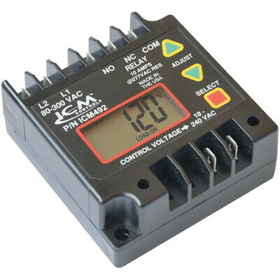 ICM492 Single Phase Digital Line Voltage Monitor