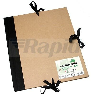 Daler Rowney Cachet A4 Recycled Earthbound Portfolio with Flaps