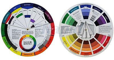 Daler Rowney Artists Colour Wheel - A Guide To Mixing Colours
