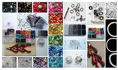 Massive Starter Jewellery Making Kit, Tools, Beads, Findings and Instructions