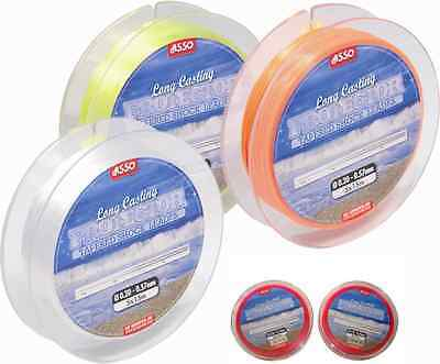 Asso Long Casting Protector Tapered Shockleader Shock Leader All Sizes & Colours