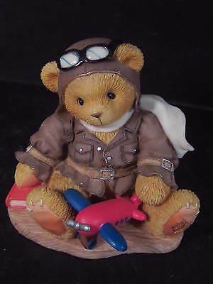 Cherished Teddies LANCE 1998 Natl Event Bear Airplane Come Fly With Me #337463