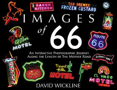IMAGES of 66 VOLUME 1 & IMAGES of 66 VOLUME 2 - Two BOOKS by DAVID WICKLINE