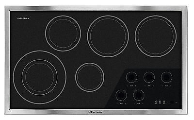 "ELECTROLUX Wave-Touch Series EW36IC60IS 36"" Induction Cooktop with 5 Zones"