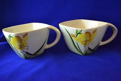 """Winfield Tiger Lily Cups approx  3 3/4"""" Wide X 2 California, USA"""