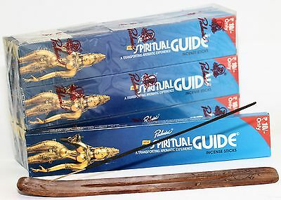 120 Pack Spiritual Guide Incense Padmini India Box of 12 packets of 10 sticks