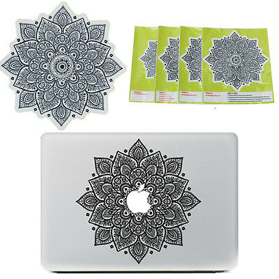 Vinyle Décalque Autocollant Sticker Fleur à 11-17'' Apple MacBook Pro Air Laptop