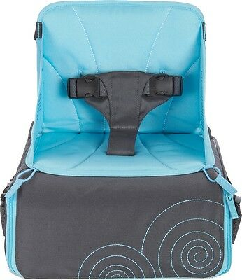 Munchkin TRAVEL BOOSTER SEAT Baby/Toddler/Child Bag Storage Convertible - New