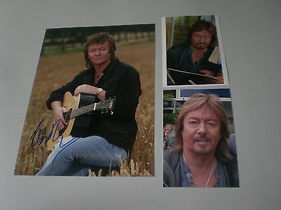 Chris Norman Smokie signed signiert autograph Autogramm 20x28 Foto in person