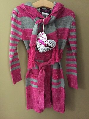337f745bc NEW!!! GIRLS DOLLHOUSE Sweater Shirt with Arm Covers Size 14-16 NWT ...
