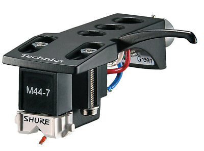 Shure M44-7H Cartridge MOUNTED On Technics Headshell - UK Supplied