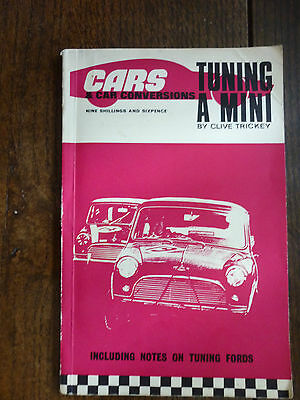 Tuning a Mini by Clive Trickey - RARE book from c.1965