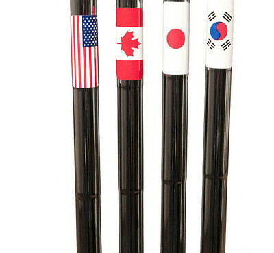 Golf club shaft FLAGS (USA), 25 sets of 12 high end flags