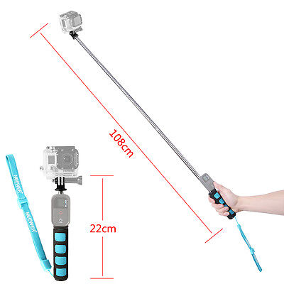Telescopic Remote Wifi Selfie Handheld Monopod for Gopro