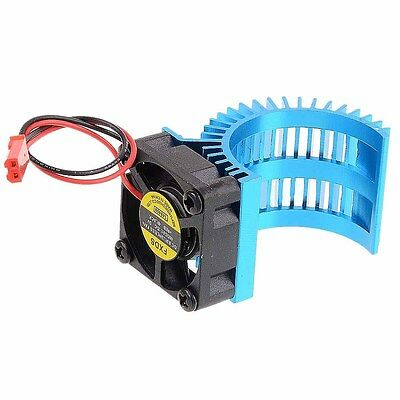 RC Car 1:10 03300 Heat Sink & Cooling Fan For 540 550 Stock Modified Motors    E
