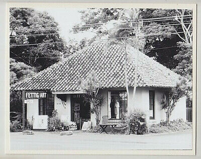 "Fettig Gallery 1978 Haleiwa Hand Printed By Photographer On 8X10"" White Matt"