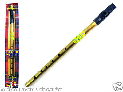 WALTONS PENNY WHISTLE 'SCOTTISH' *Key Of 'D'* NEW!