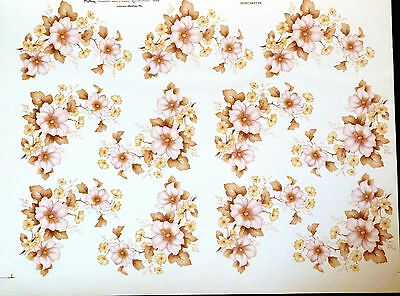 Ceramic Decals Dorchester 747686 W/d 165857 11 On A Sheet Matthey Right Ptice