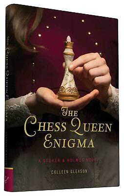 The Chess Queen Enigma: A Stoker & Holmes Novel by Colleen Gleason (English) Har