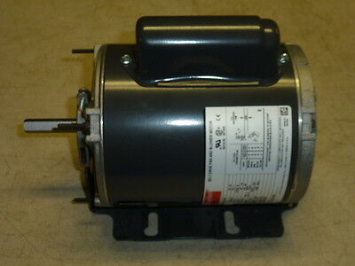 NEW! DAYTON BLOWER MOTOR 1/4HP, 1PH, 1725 RPM, 115/208-230, Fr: 56Z, 4VAG4