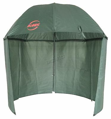 Outdoor Carp Fishing Camping 2.2M Top Tilt Umbrella Brolly Shelter Zipped Side