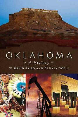 Oklahoma: A History by W. David Baird (English) Paperback Book Free Shipping!
