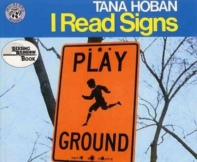 I Read Signs by Tana Hoban (English) Paperback Book Free Shipping!