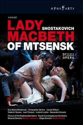 Shostakovich - Lady Macbeth Of Mtsensk New Dvd