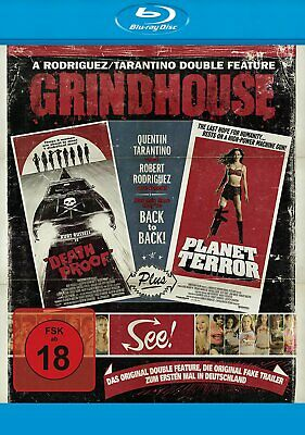 Grindhouse Doublefeature - Quentin Tarantino # BLU-RAY-NEU
