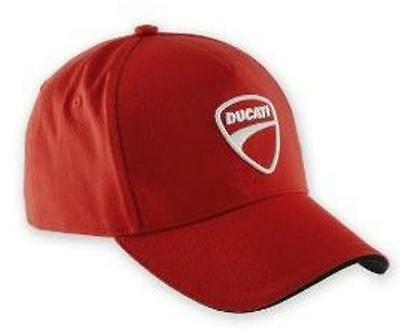 Ducati Company Hat 2014 Red 5 Panel Adjustable Embroidered