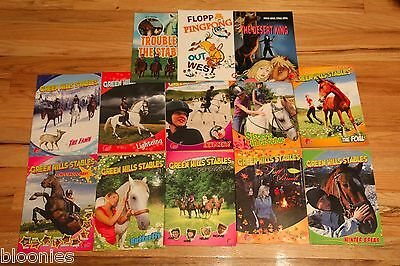 Green Hills Stables/Pony LOT of 13 Horse Comic Books (Horse Angel Comic Book)