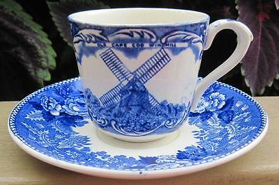 Adams Jonroth Old English Staffordshire Ware Cape Cod Demitasse Cup and Saucer