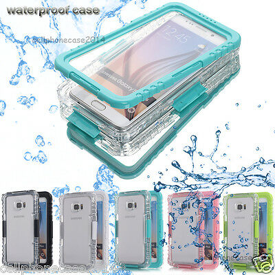 Waterproof Shockproof Lifetime Cover Case Samsung Galaxy Note 9/8/5/S6/S7 edge