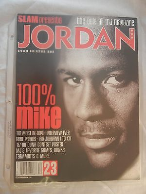 SLAM Presents JORDAN 1997 Basketball & Special Collectors Issue #20 100% MIKE