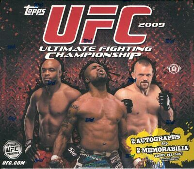 2009 Topps Ufc Series 2 (Round 2) Hobby Box Blowout Cards