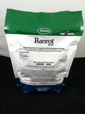 Banrot 40 WP By Scotts (2 lb) Broad Spectrum root stem fungicide Banrot
