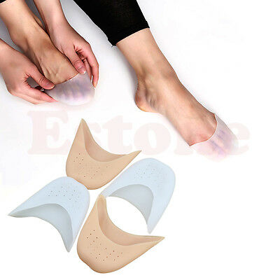 Girls Boys Professional Soft Ballet Pointe Dance Shoe Pads Silicone Gel Toe Caps
