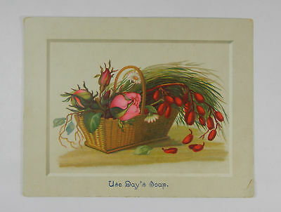 Day's Soap Soap Vintage Trade Card 216628