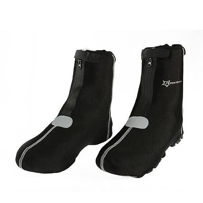 RockBros Bike Shoe Covers Warm Cover Protector Overshoes Black One Size (6-12)